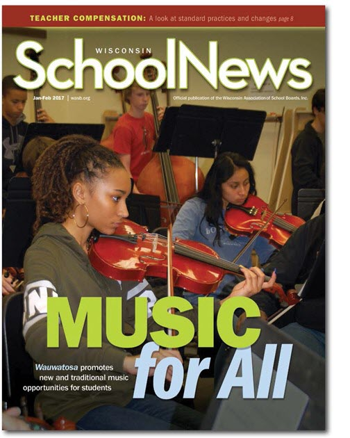 Wiscons in School News January 2017
